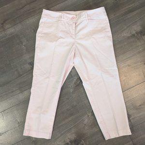 Loft Petite Pastel Baby Pink Capris